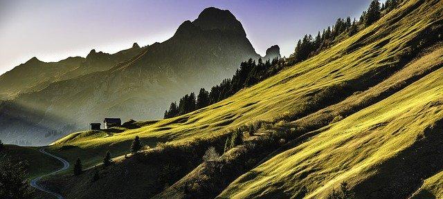 Góry latem