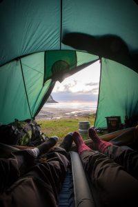 namiot 5 osobowy - wnętrze